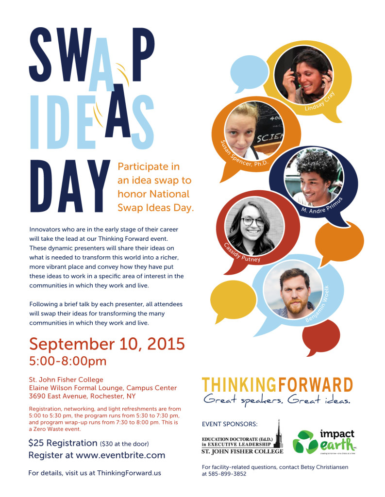 Register here: http://thinkingforward.us/event/idea-swap/?rd=20150910